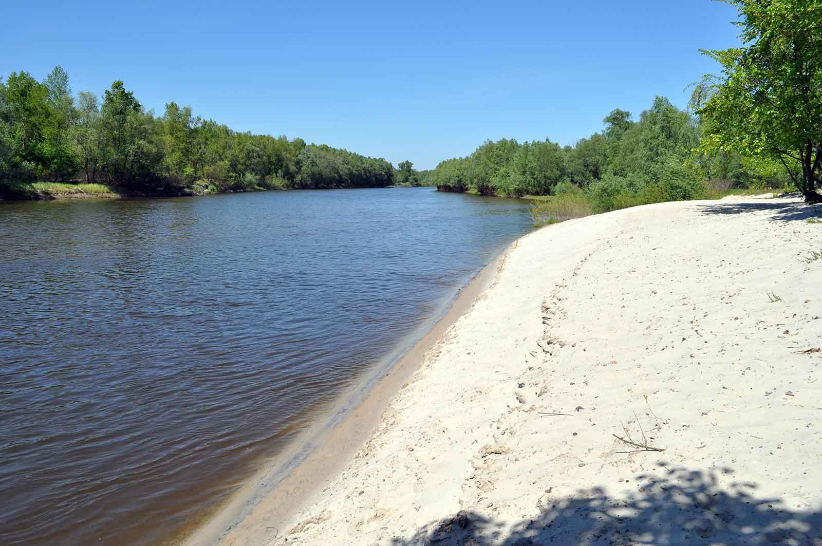 Белая речка фото пляжа